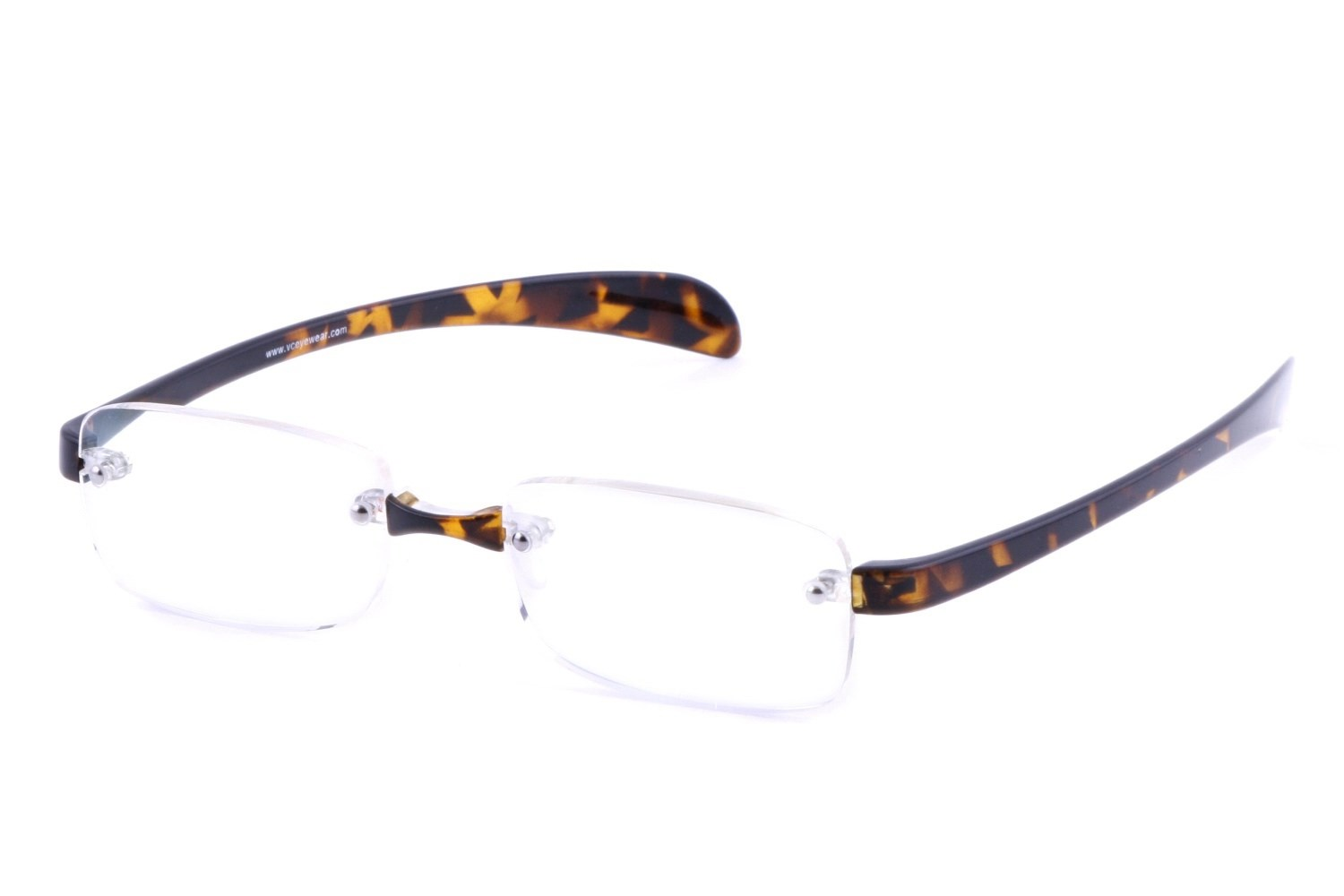 Computer Eyed CE110 Rimless Modern Reading Glasses ...