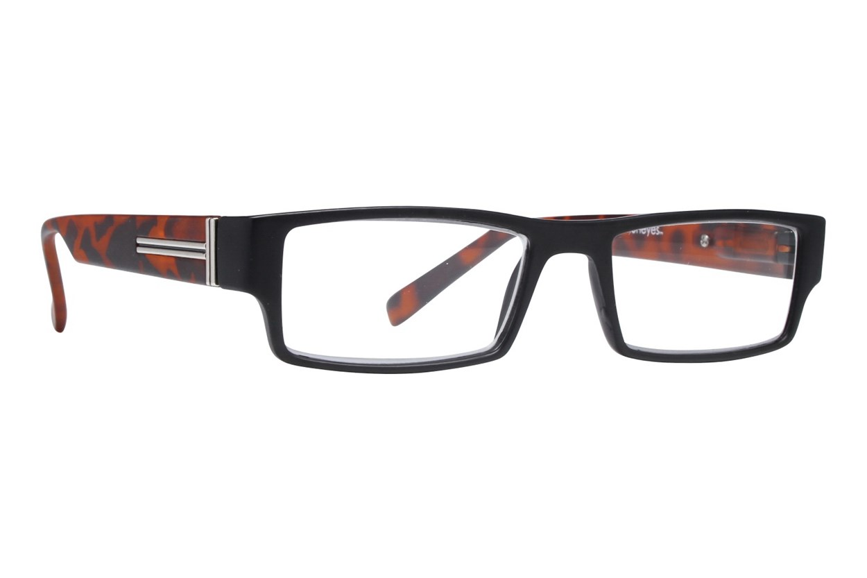 Evolutioneyes CRPH835 Full Rim Classic Readers ReadingGlasses - Black