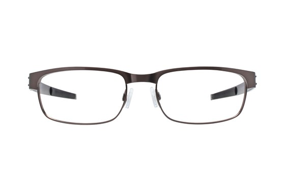 Oakley Metal Plate (55) Silver Eyeglasses