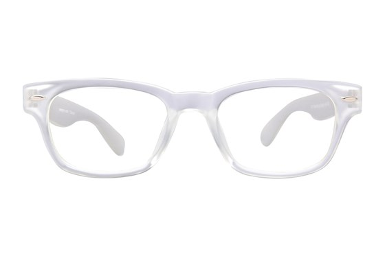 Peepers Rainbow Bright Reading Glasses White
