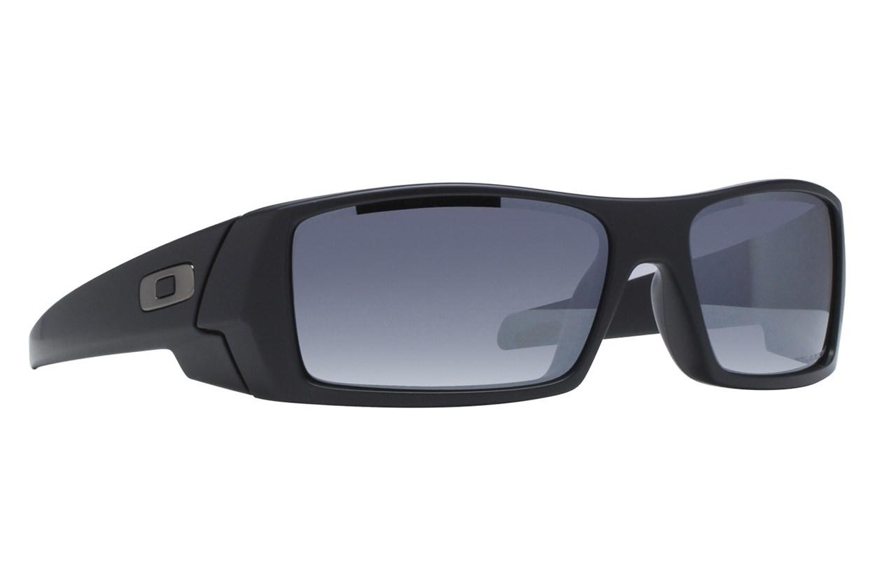 Oakley Gascan Iridium Polarized Black Sunglasses
