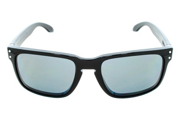 Oakley Holbrook Polarized Sunglasses - Black