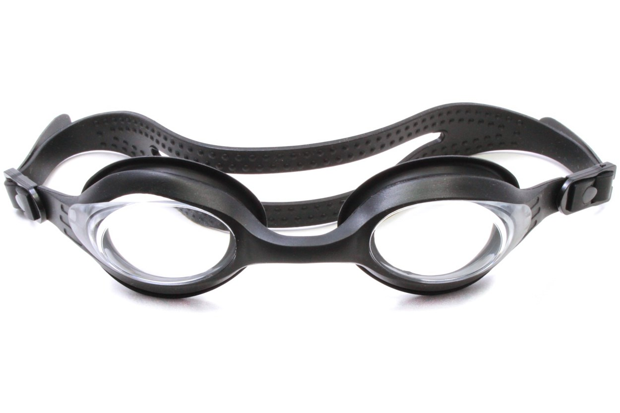 Splaqua Clear Prescription Swimming Goggles Black SwimmingGoggles