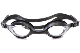 Splaqua Clear Prescription Swimming Goggles Black