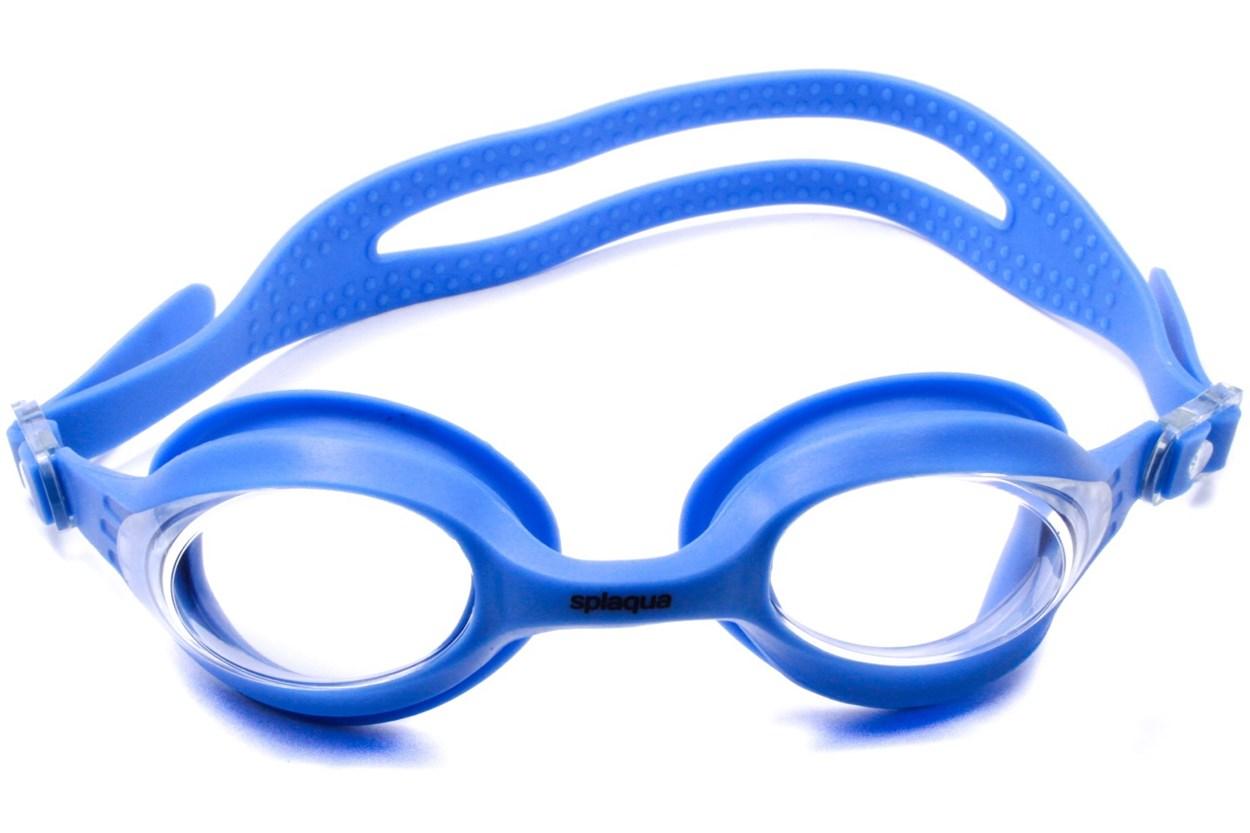 Splaqua Clear Prescription Swimming Goggles Blue SwimmingGoggles