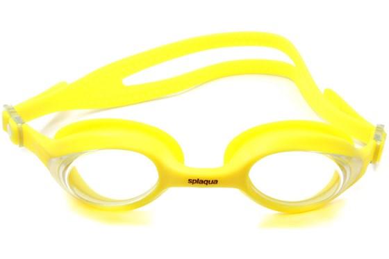 Splaqua Clear Prescription Swimming Goggles Yellow SwimmingGoggles