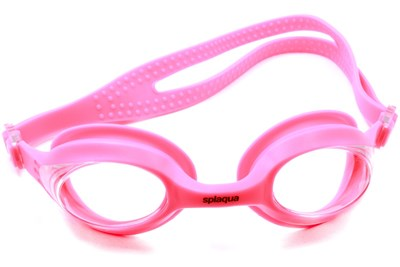 Splaqua Clear Swimming Goggles Pink