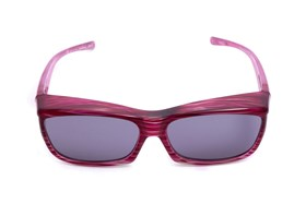Fitovers Eyewear Coolaroo Over Prescription Sunglasses Red