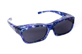 Fitovers Eyewear Coolaroo Over Prescription Sunglasses Blue