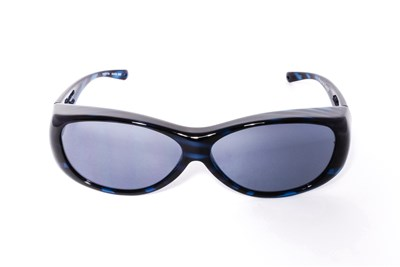 Fitovers Eyewear Kiata - Over Prescription Sunglasses Blue