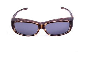 Fitovers Eyewear Queeda - Over Prescription Sunglasses Brown