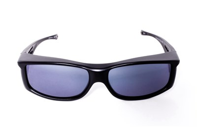 Fitovers Eyewear Jett by Jonathan Paul Eyewear - Fits Over Prescription Eyeglasses Black