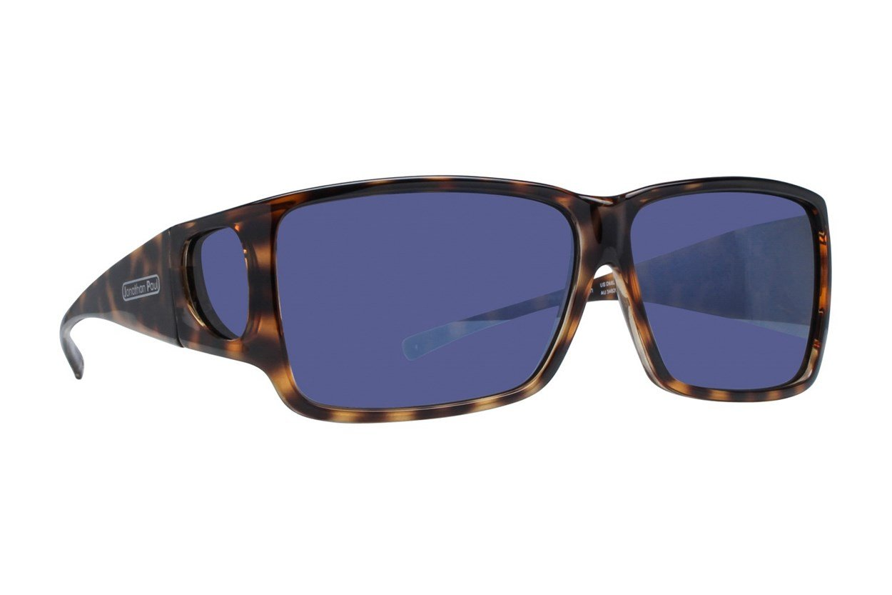 Fitovers Eyewear Orion - Over Prescription Sunglasses Brown Sunglasses