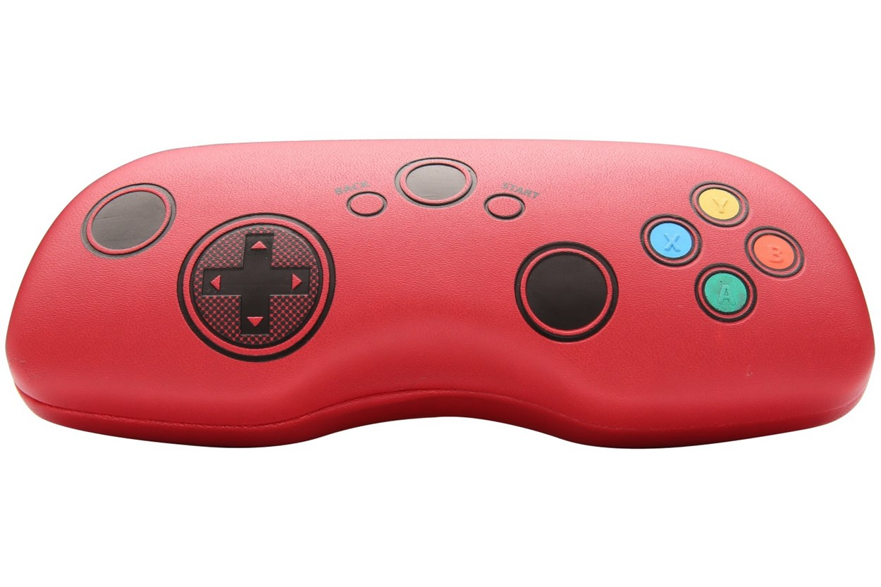 CalOptix Game On Video Games Eyeglasses Case Red GlassesCases