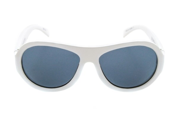 Babiators Polarized Sunglasses for Babies - Solid Sunglasses - White