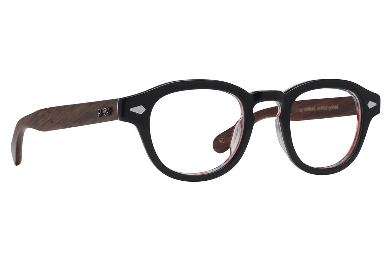 Proof Chaplin Black Eyeglasses