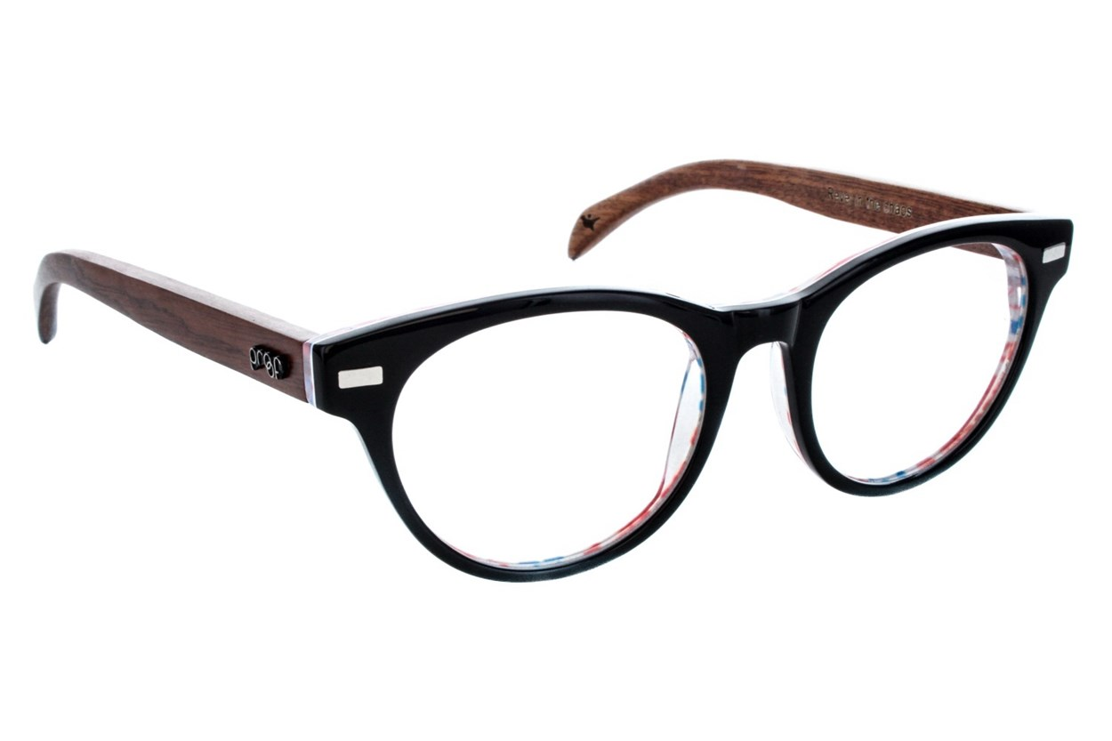Proof Lunar Black Eyeglasses