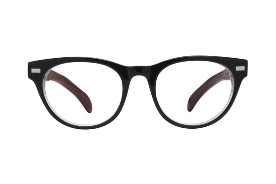 Proof Lunar Black Eyeglasses