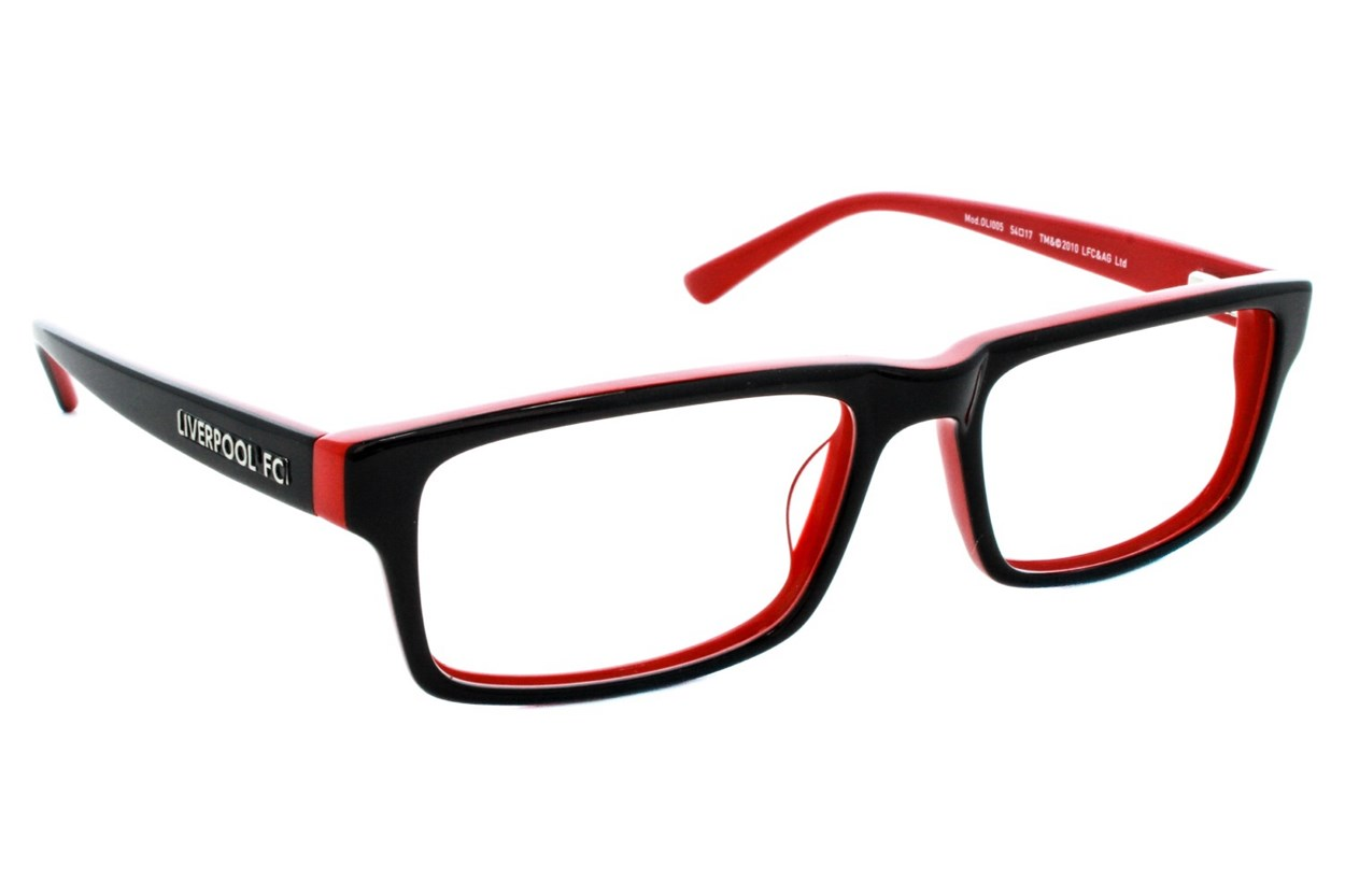 Fan Frames Liverpool FC - Retro Eyeglasses - Black