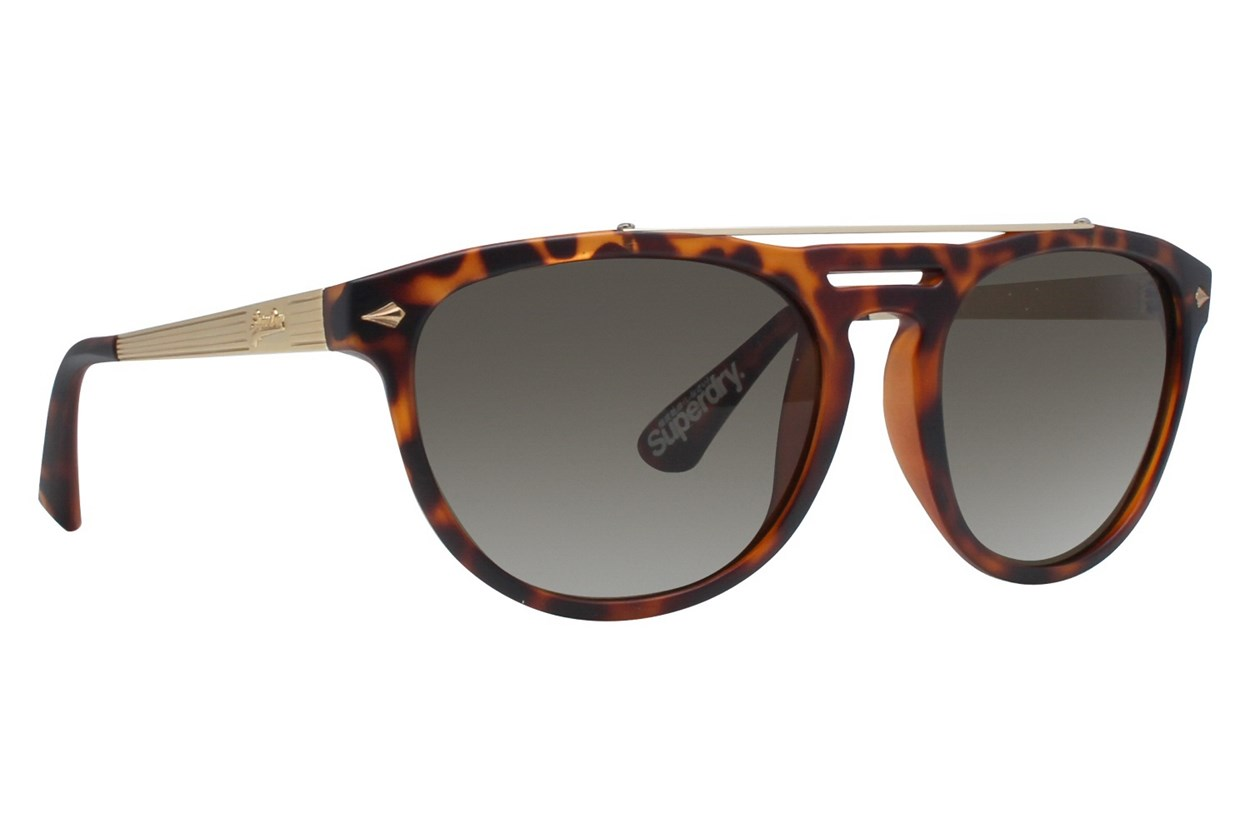 Superdry Aircorps Brown Sunglasses