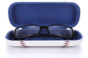 Click to swap image to alternate 1 - CalOptix Children's Sports Eyeglass Case White GlassesCases