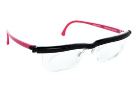 Adlens Adjustables Instant Prescription Eyeglasses EM02 Pink