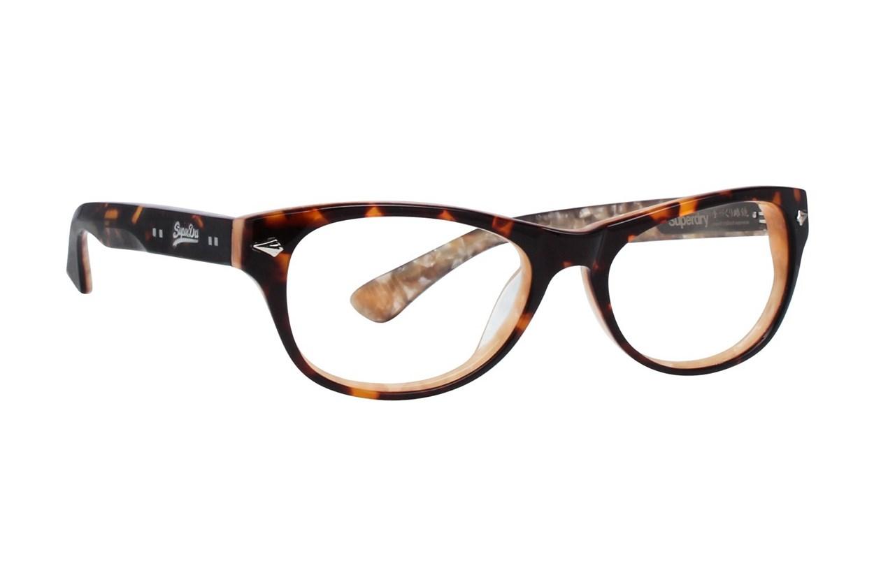 Superdry Kloe Brown Eyeglasses