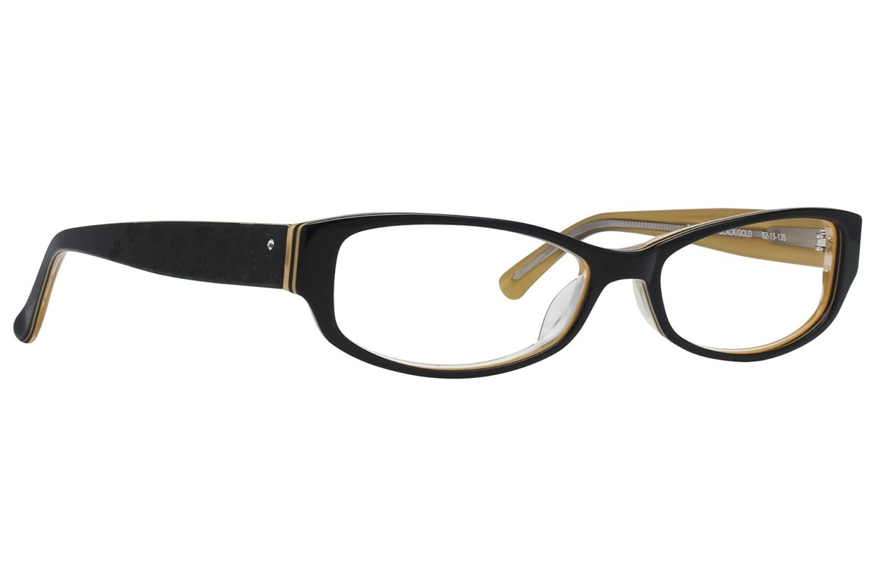 Paws n Claws Paws 601 Black Eyeglasses