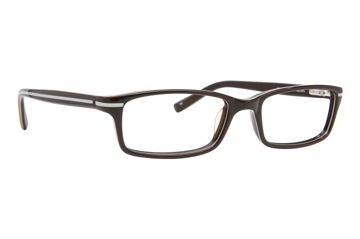 Converse K004 Brown Eyeglasses