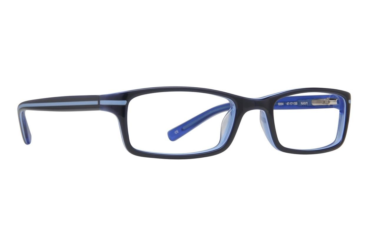 Converse K004 Blue Eyeglasses