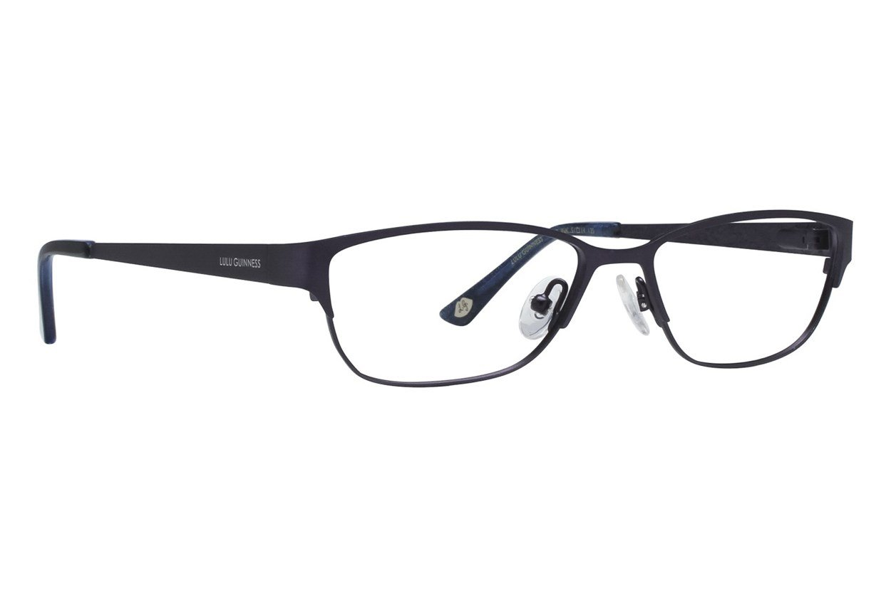 Lulu Guinness L749 Black Eyeglasses