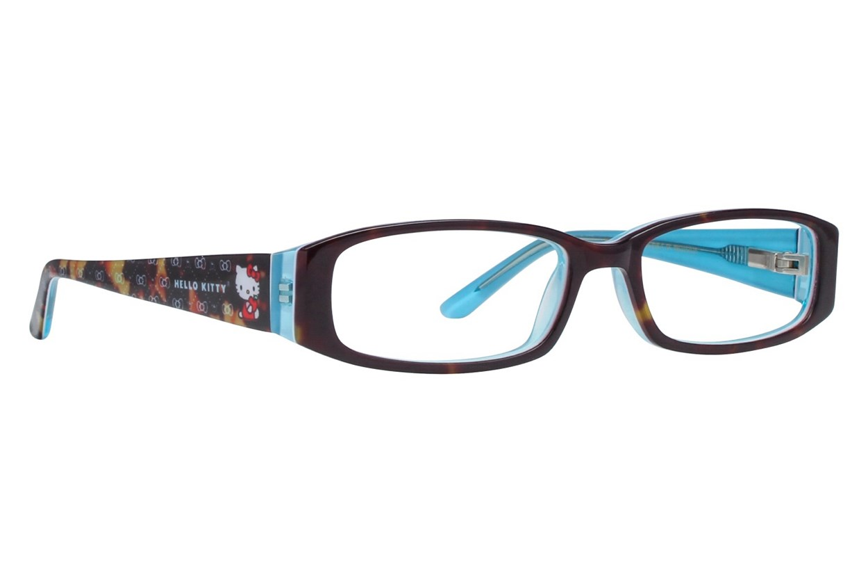 Hello Kitty HK218 Tortoise Eyeglasses