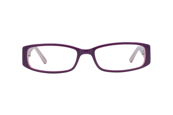 Hello Kitty HK218 Purple Eyeglasses