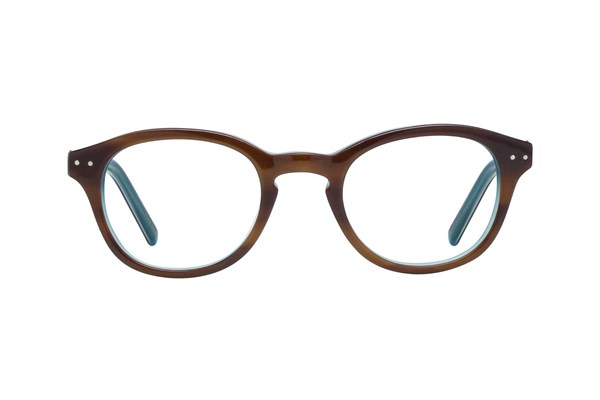 Hello Kitty HK219 Brown Eyeglasses