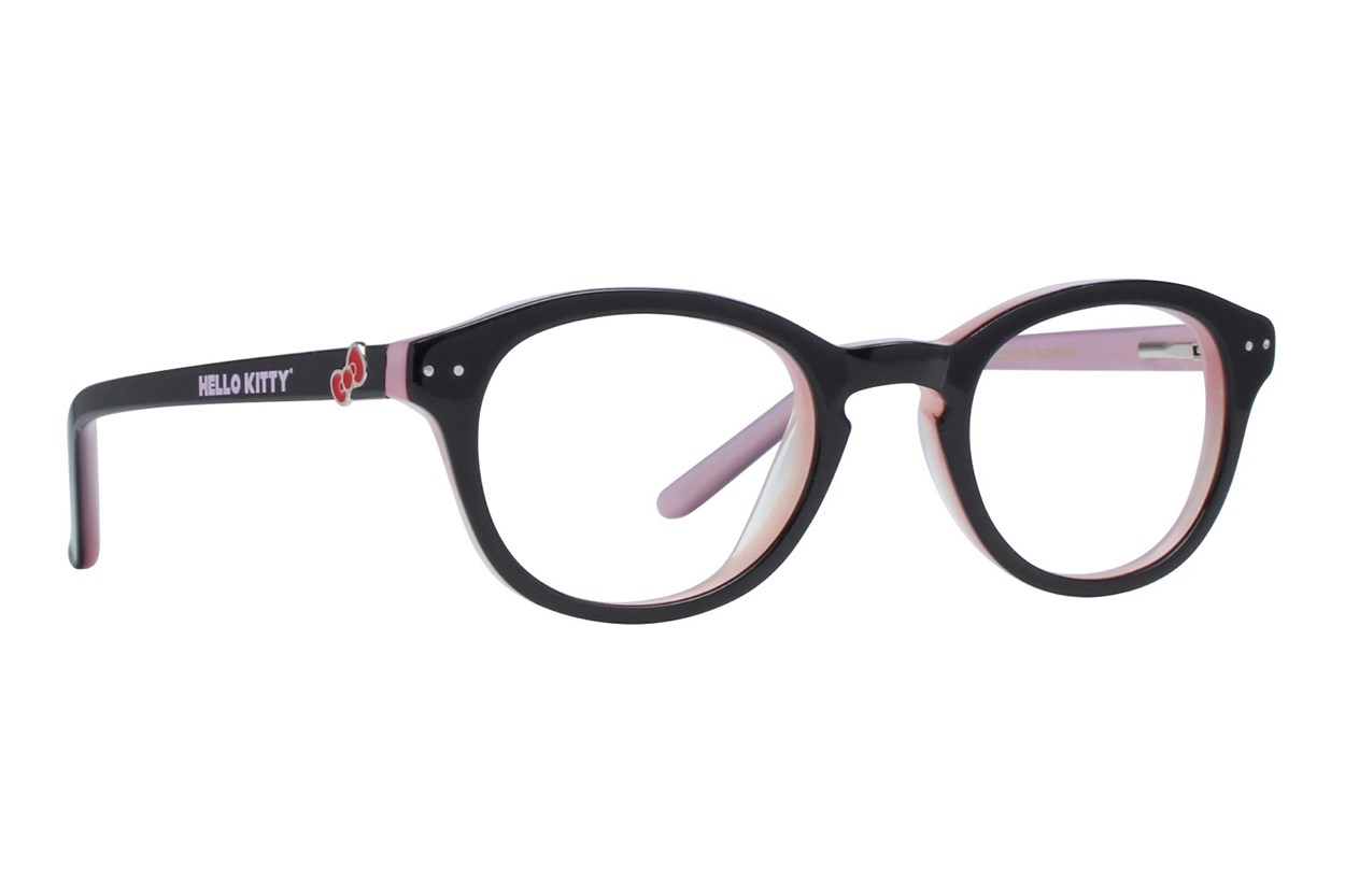 Hello Kitty HK219 Black Eyeglasses