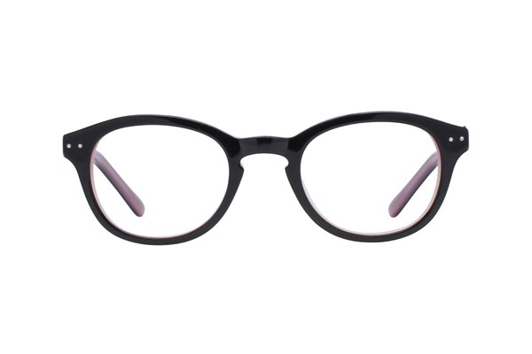 Hello Kitty HK219 Eyeglasses - Black