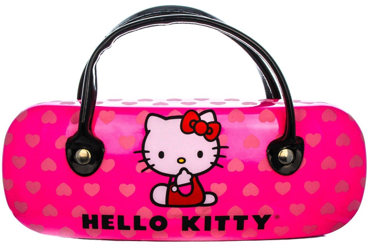 Alternate Image 1 - Hello Kitty HK220 Eyeglasses - Brown