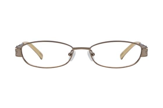 Hello Kitty HK220 Brown Eyeglasses