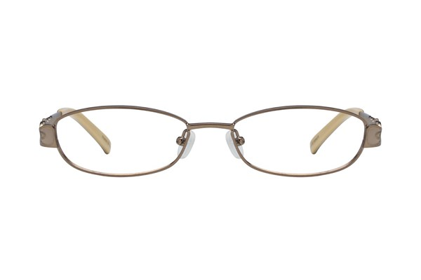 Hello Kitty HK220 Brown Eyeglasses