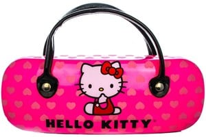 Click to swap image to alternate 1 - Hello Kitty HK221 Tortoise Eyeglasses