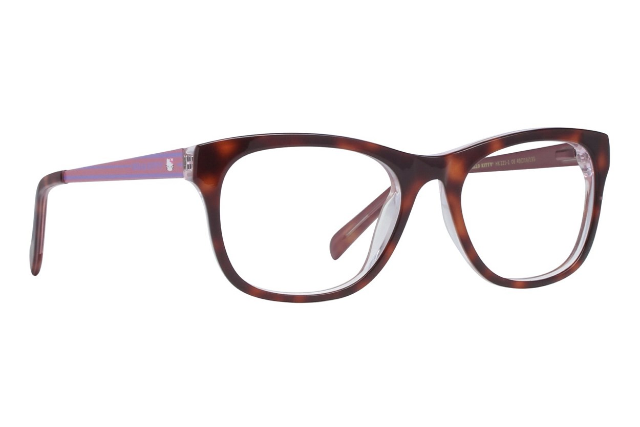 Hello Kitty HK221 Tortoise Eyeglasses