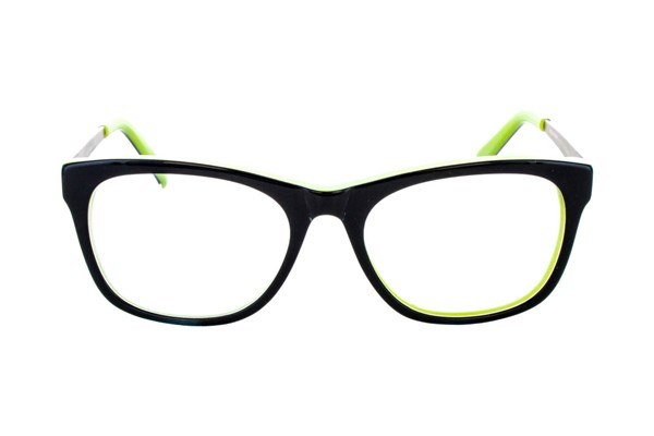 Hello Kitty HK221 Eyeglasses - Black