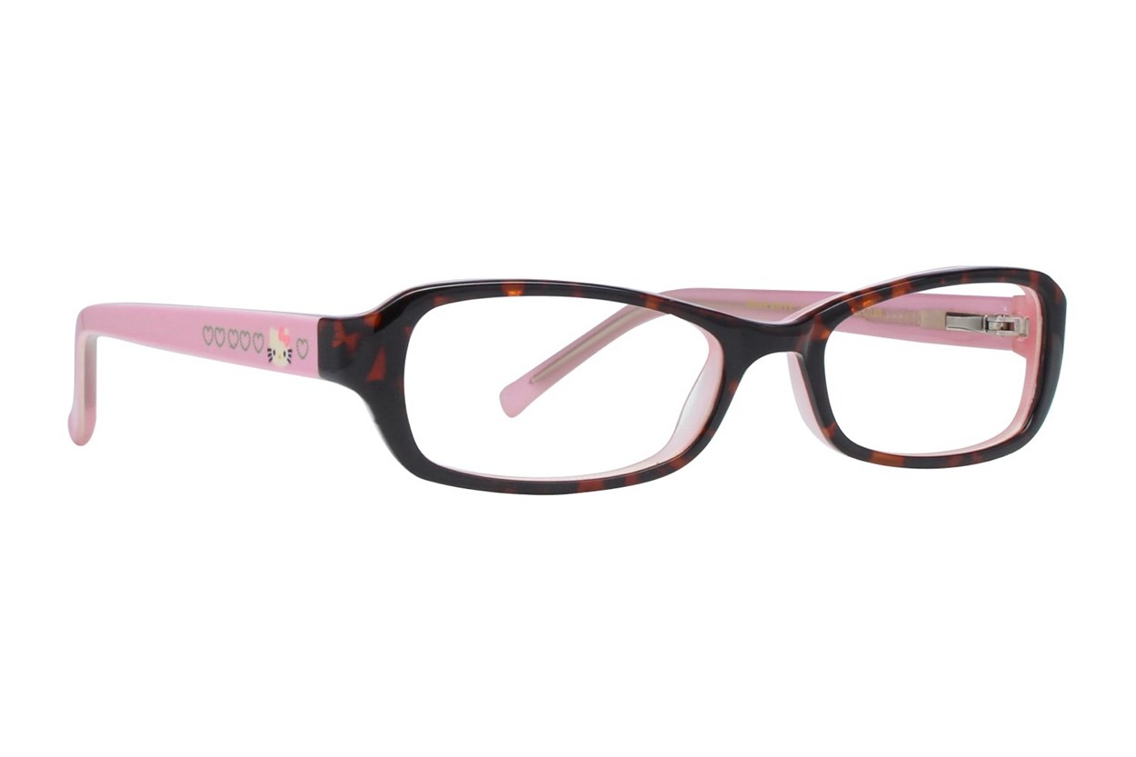 Hello Kitty HK222 Eyeglasses - Tortoise