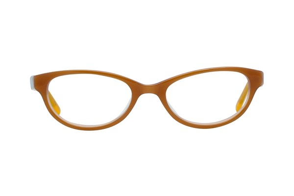 Hello Kitty HK226 Gold Eyeglasses