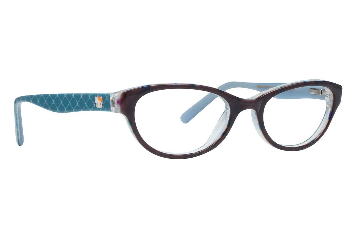 Hello Kitty HK226 Gray Eyeglasses