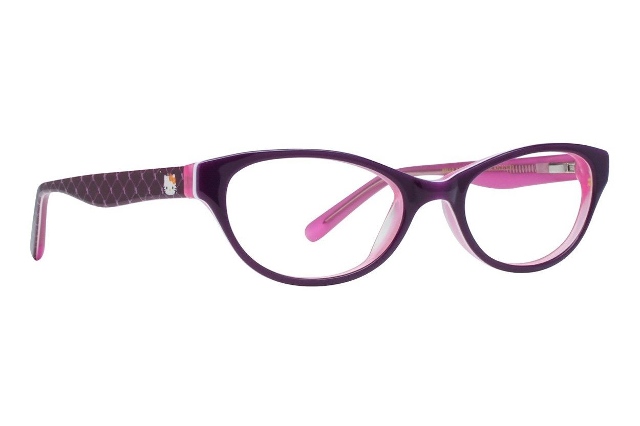 Hello Kitty HK226 Eyeglasses - Red