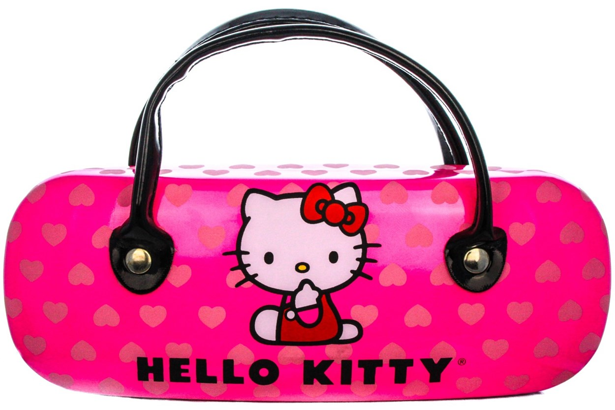 Alternate Image 1 - Hello Kitty HK231 Black Eyeglasses