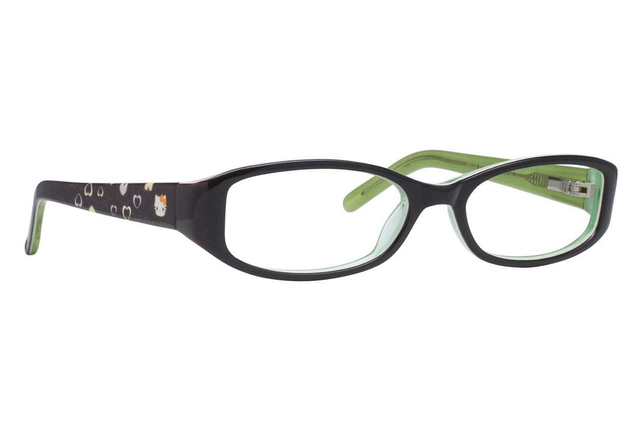 Hello Kitty HK231 Black Eyeglasses