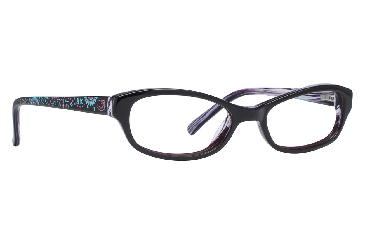 Hello Kitty HK234 Purple Eyeglasses