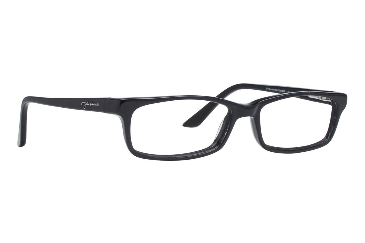 John Lennon Winston Black Eyeglasses